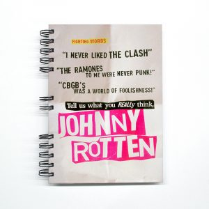 "Cuaderno ""Johnny Rotten"""