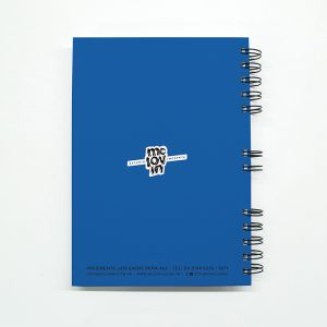 «Washing Machine» Cuaderno anillado A5