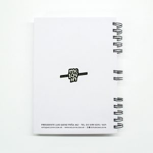 «I Didn't go to work today…» Cuaderno anillado A5