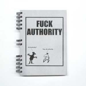 "Cuaderno ""Fuck Authority"""