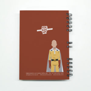 «One Punch-Man 2» Cuaderno anillado A5