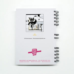 «Electric Intercourse» Cuaderno anillado A5