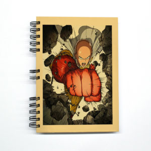 «One Punch-Man» Cuaderno anillado A5